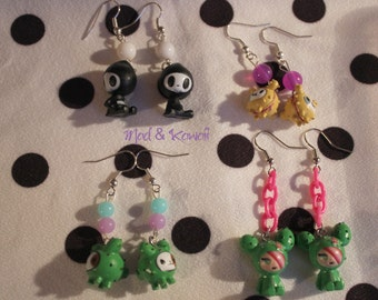 Earrings toki doki