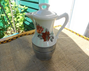 Anphore coffe maker/Vintage stovetop coffe maker/Italian coffe maker/Espresso coffe maker/Ceramic coffe maker