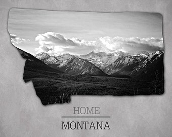 Home Montana Photographic print