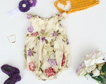 Lilah Baby Romper / Playsuit  - Made to order