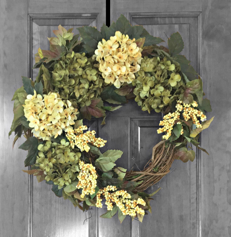 Garland For Front Door: Front Door Wreaths Outdoor Wreath Front Door By RefinedWreath