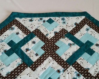 Quilted Turquise Placemat Set of 4