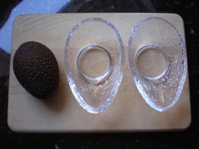 Dartington Glass Avocado Dishes