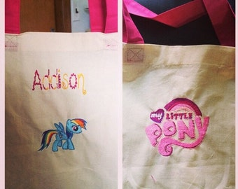 My Little Pony inspired tote