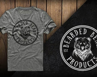 Bearded Bear Products T-shirt - Men's and Women's