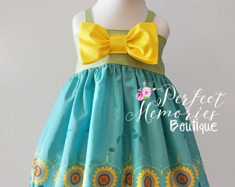 Anna Princess Dress | Summer Dress | Disney Vacation | Birthday Dress | Frozen Fever | Princess Dress | Disney Dress | Disney World