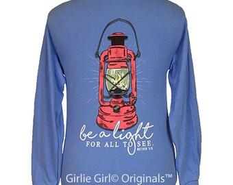 Girlie Girl Originals Be A Light Long Sleeve Unisex Fit T-Shirt