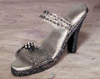 decorative Collectible Miniature Shoe   vintage