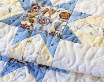 Stars and Stripes Baby Quilt