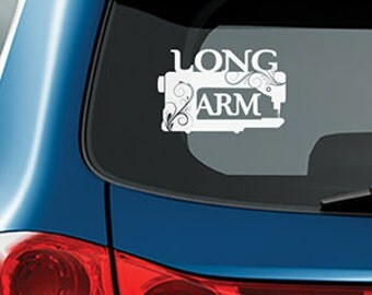 LONG ARM decal