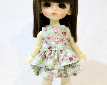 Dress and Bow For Lati Yellow / Pukifee Outfit #L016