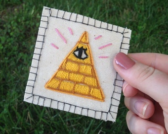 Illuminati Patch