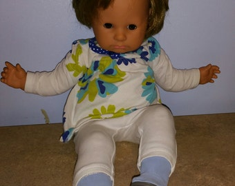 """1997 Max Zapf 21"""" brown haired doll"""