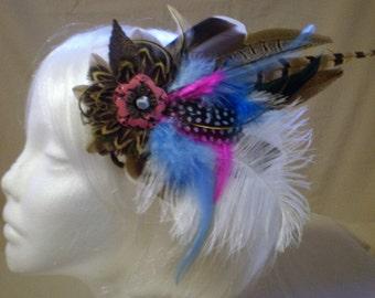 Whimsical Dream Feather Hair Piece