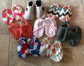 Discounted baby shoes, baby booties, girl baby shoes, boy baby shoes, crib shoes