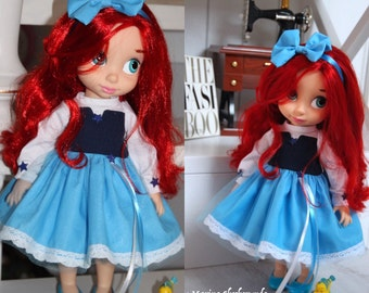 Ariel dress for Disney animator dolls-16