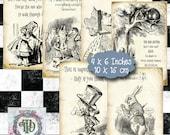 Alice in Wonderland Tags Set 2