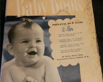 Vintage 1940's Better Homes and Gardens Baby Book
