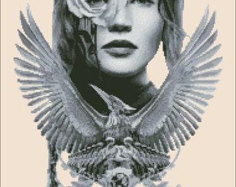 Eva's Designs: The Hunger Games - PDF counted cross stitch pattern