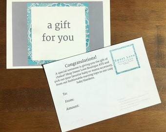 30 Dollar SweetLoveBoutiqueATX Gift Card