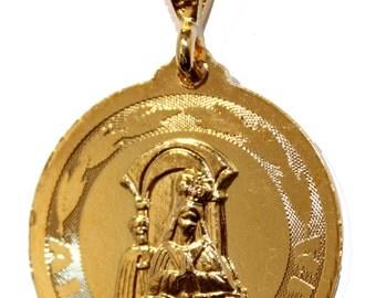 Virgen de Altagracia Pendant with 20 inch Chain - Altagracia Necklace
