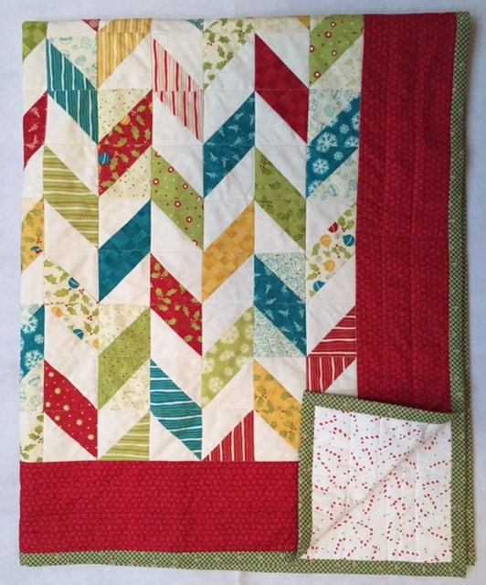 Christmas Patchwork Quilt
