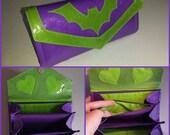 Single Bat Purse - Wallet - Glitter