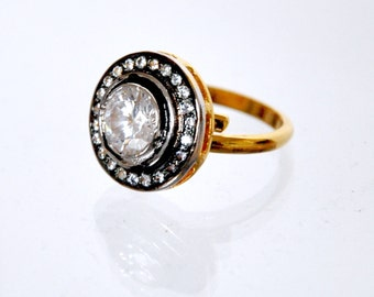 Victorian Zirconia ring | Indian jewelry | Indian Rings | victorian jewelry