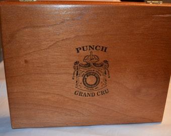 Vintage Wood Cigar Box