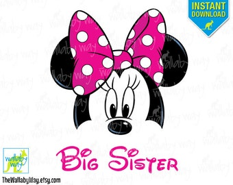 Minnie big sister – Etsy