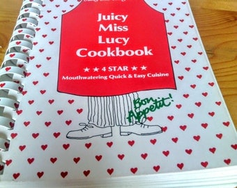 The Juicy Miss Lucy Vintage Cook Book