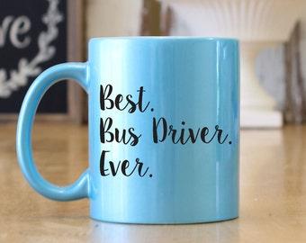 School Bus Mug Etsy