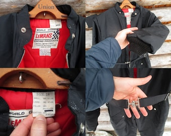80s Skidoo Suit, Unisex, Snowsuit, Ski Suit. LeMans co. Size Small. Coveralls, Jumpsuit. See Details.