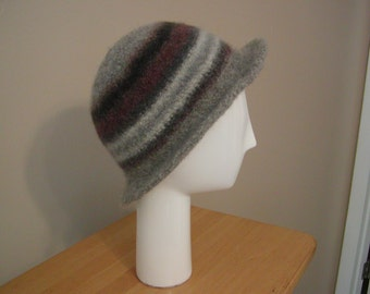 ladies hat -felted