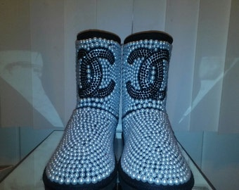Ugg Inspired Customized Boot CC