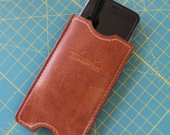 Leather iPhone 6 Slip Case