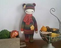 Bina the Bear made from Lalylala's pattern.