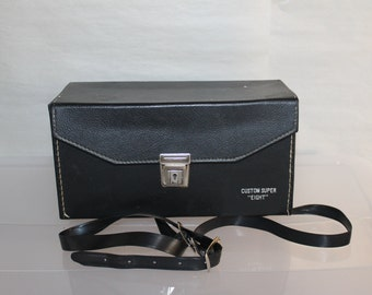 Vintage Argus Super MM, Eight Cosina 735 Movie Camera w Case & Warranty and Papers,  and All Parts, Exposure Meter/aperture READ BELOW Nice