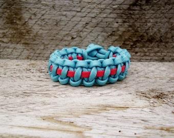 Cutomize Thin Line Paracord Survival Bracelet, Parachute Cord Bracelet, Mens Womens Kids Para Cord Bracelet
