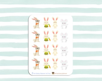 Easter Stickers | Bunnies