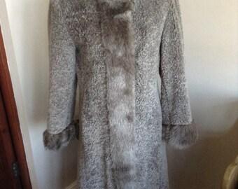 Vintage ladies coat by Astraka
