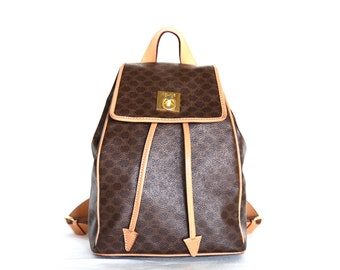 celine black and white bag - CELINE Vintage Designer Handbag Shoulder Bag Box by CoQBoutique