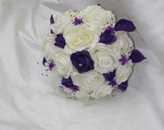 Bride mini calla lily bouquet