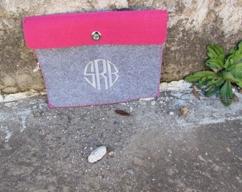 IPAD Cover monogrammed