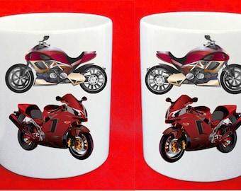 Motor bike mug