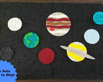 Solar System Felt Board
