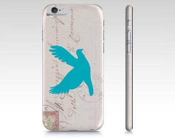 Dove Silhouette Device case for iPhone / Samsung Galaxy Phone, iPhone 6s, iPhone 6, Samsung, Galaxy, Phone, Dove, Bird, Pigeon, Silhouette