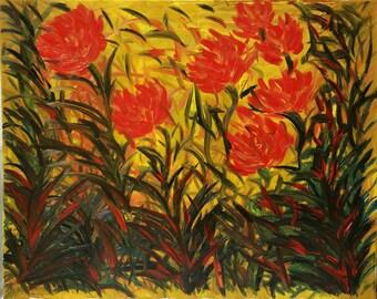 Windswept Flowers