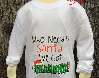 Childrens christmas shirt,santa shirt,toddler shirt,christmas gift,holiday gift,holiday item,girl gift,boy gift,santas hat,candy cane,gifts