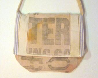 Boho Grain Sack Purse Messenger Bag